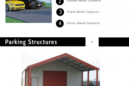 Perfect Metal Carports for your Vehicle Parking Infographic