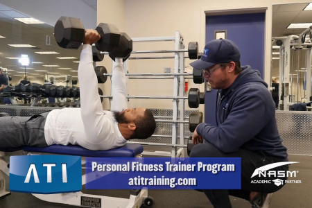Personal Fitness Trainer Program Infographic