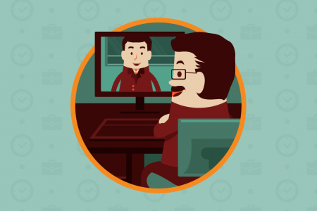 Peru: Traditional vs Virtual Interview Infographic