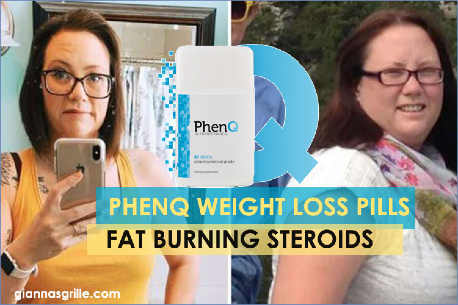 Phenq Diet Pills Review by Giannasgrille Infographic