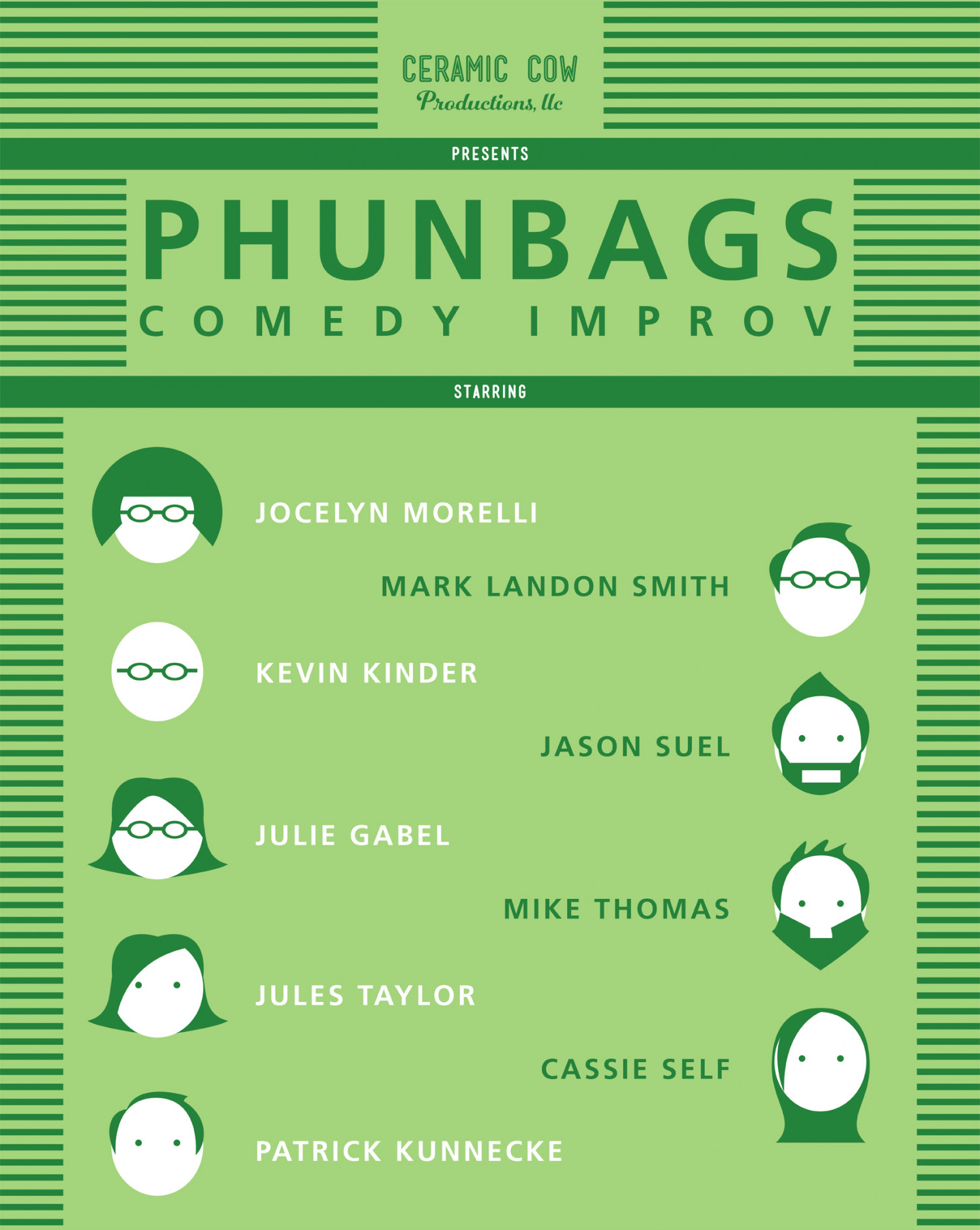 Phunbags Cast Infographic