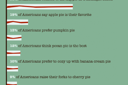 Pie: A Slice of Life in America Infographic
