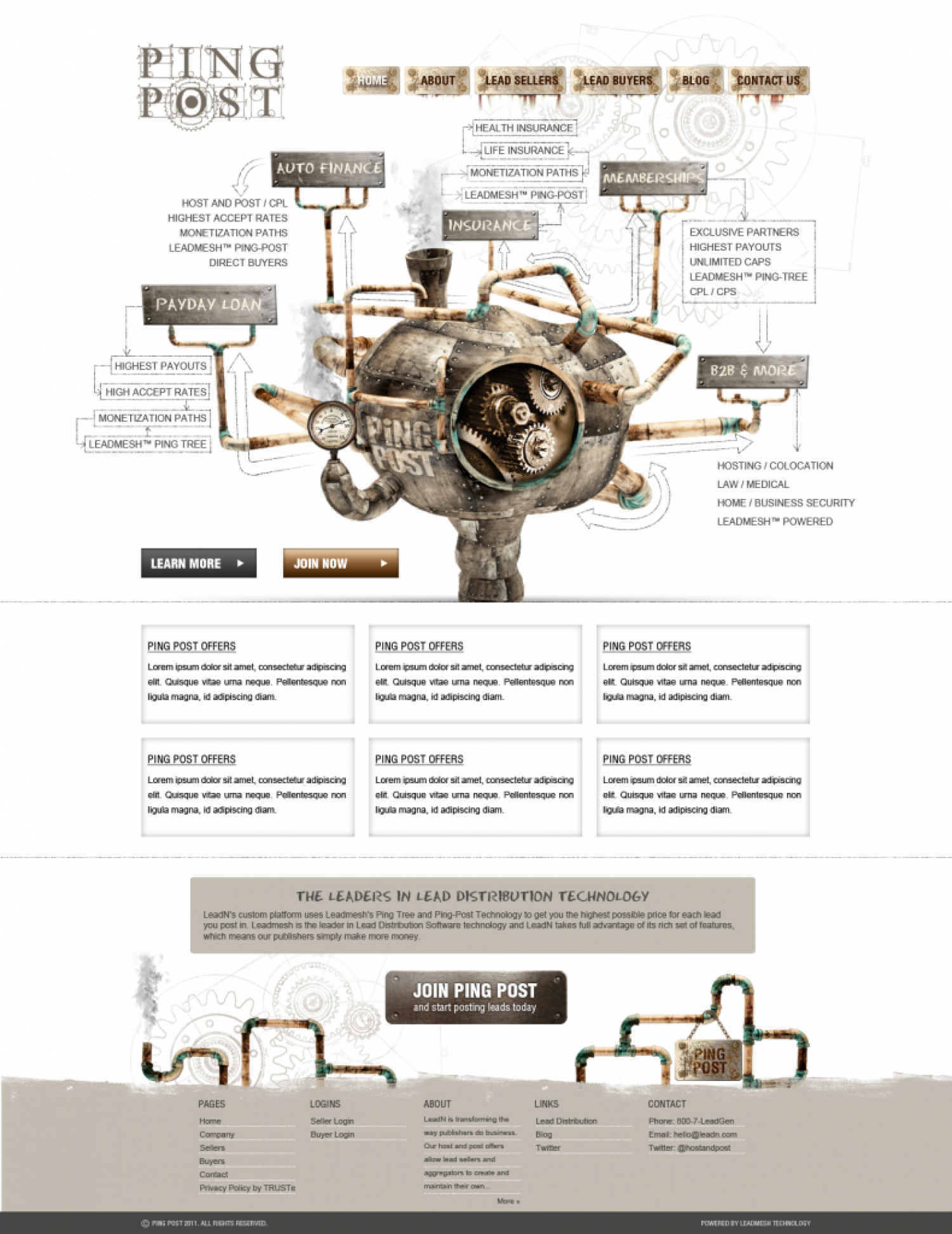 PING POST TECHNOLOGY  Infographic