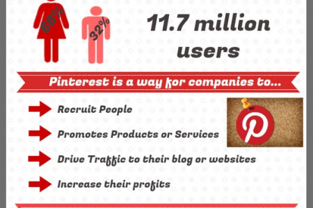 Pinterest Usage  Infographic