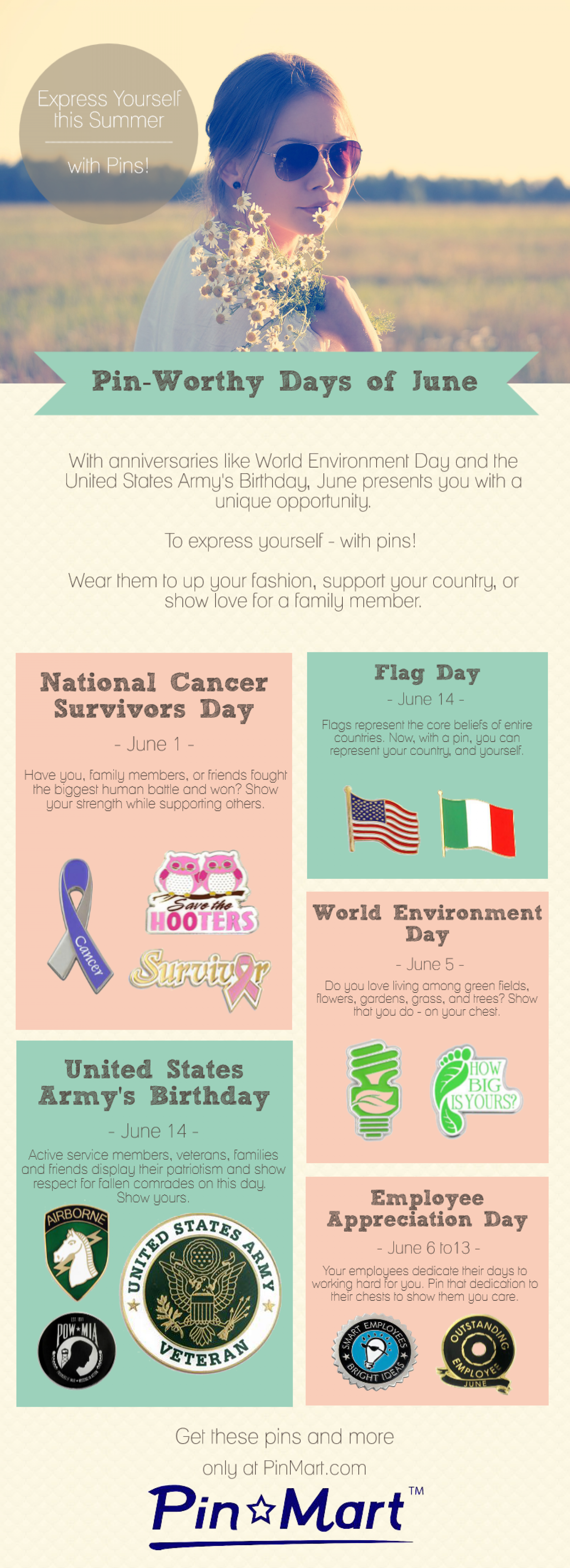 Pin-Worthy Days of June Infographic