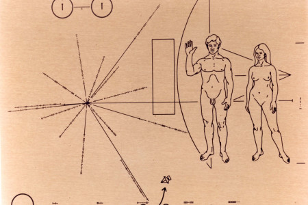 Pioneer Plaque Infographic