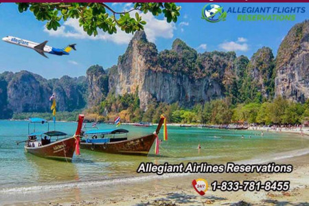 Plan a trip for a scuba diving with Allegiant Airlines Reservations Infographic