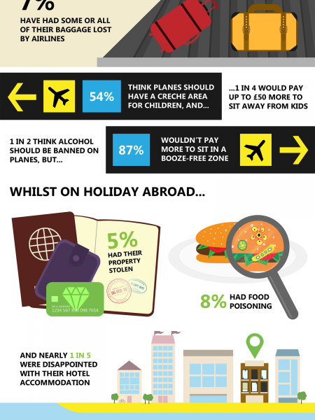 Plane Annoying - What Irritates You When Flying? Infographic