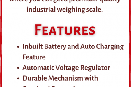 Platform Weighing Scale Exporters in India Infographic