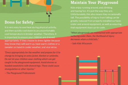 Playground Safety Tips Infographic