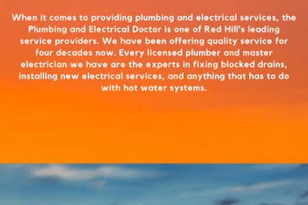 Plumber in Red Hill Infographic