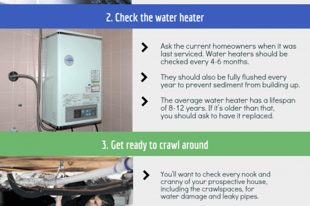 Plumbing Checklist: For New Home Buyers Infographic