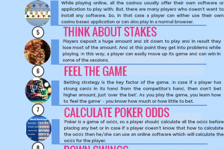 Poker Tips and Advice 2017  Infographic