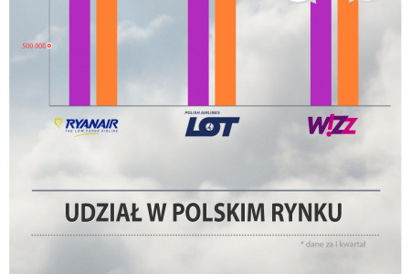 Polish Airline market Infographic