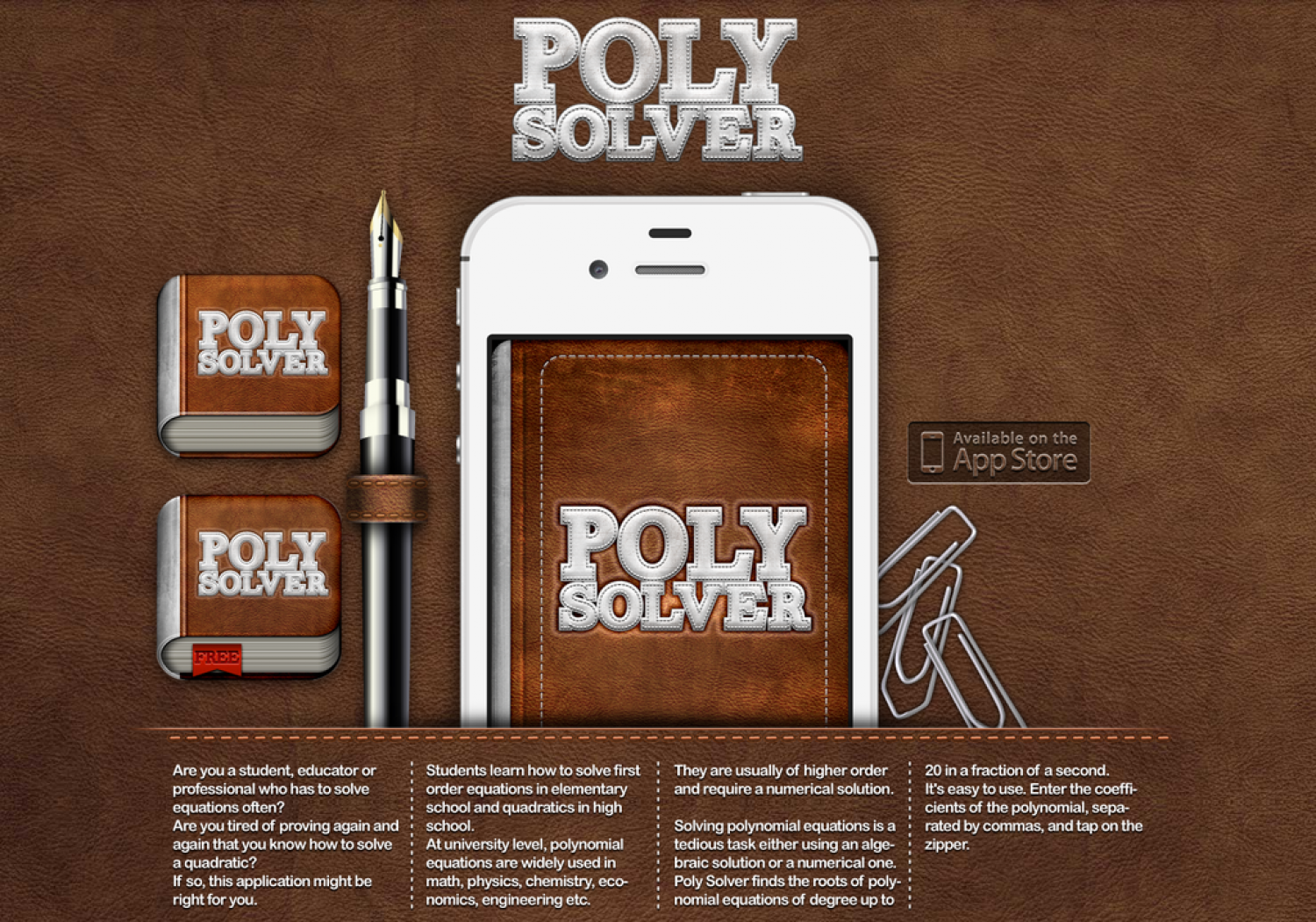PolySolver Infographic