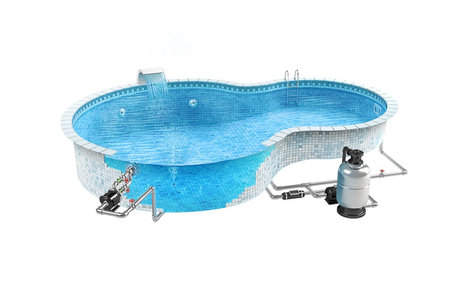 Pool equipment for Swimming pool accessories