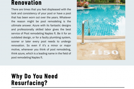 Pool remodeling Service Naples fl Infographic