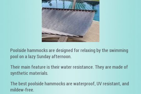 Poolside Hammocks Infographic