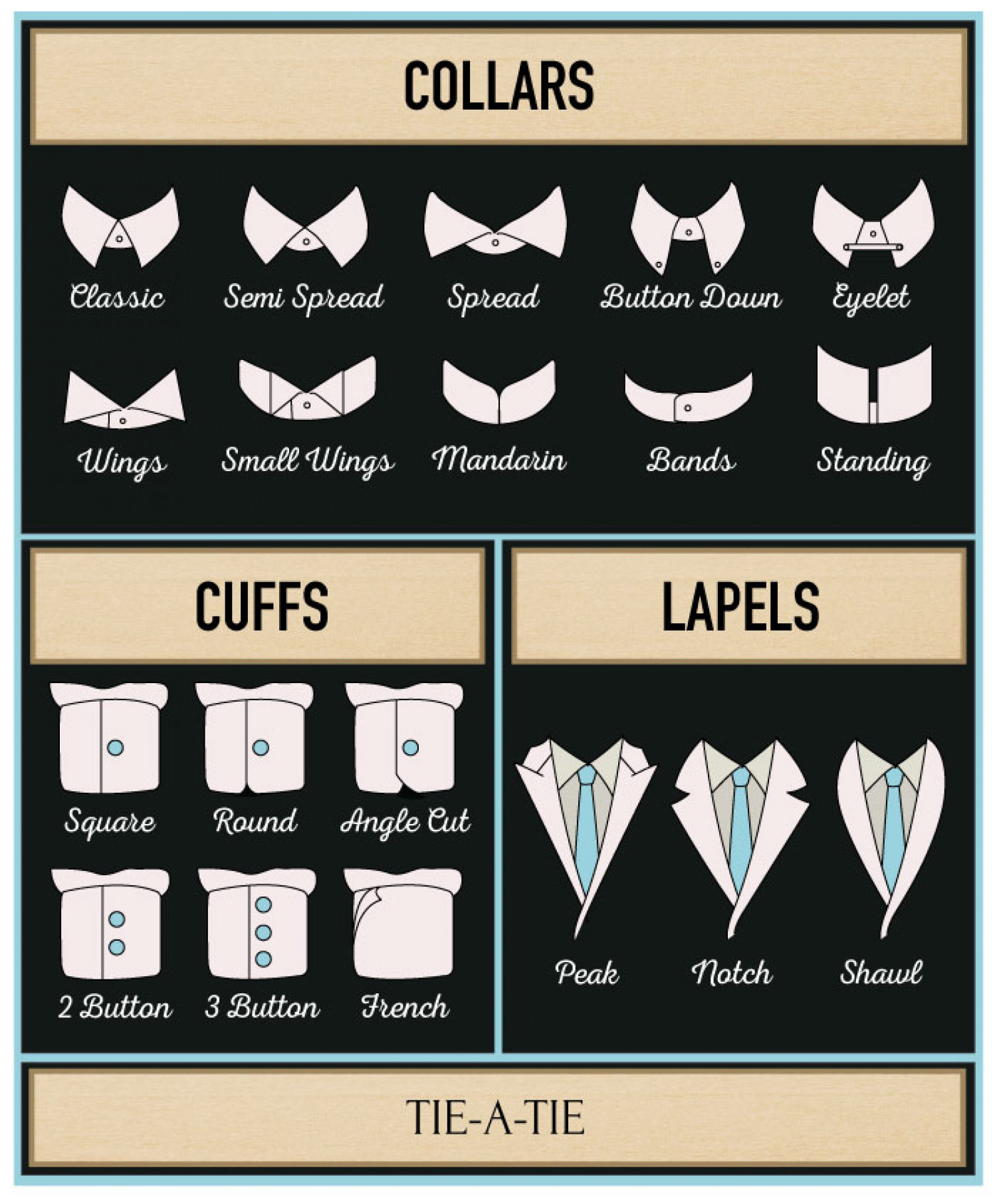 Popular Collars And Cuff Styles For Mens Dress Shirts