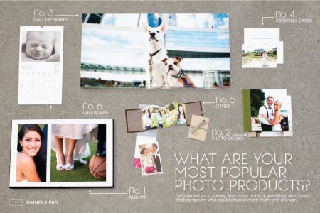 Popular Photo Products Infographic