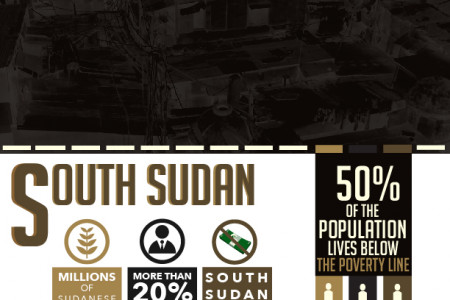 Poverty in South Sudan Infographic