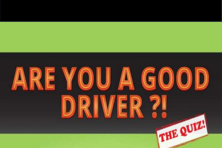 Powerpoint Presentation: Are You a Good Driver? Infographic