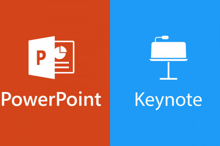 PowerPoint Vs Keynote Infographic