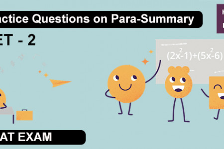 Practice Question on Para-Summary SET-2 Infographic