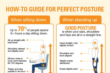 Practicing Proper Posture Infographic