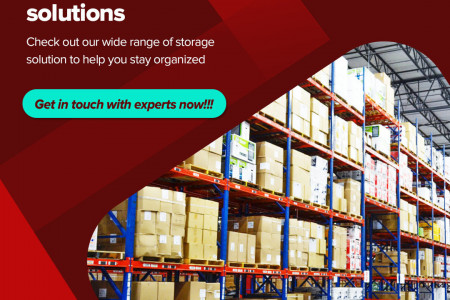 Premium Warehouse Racking, Shelving, and Storage Solutions at Space Rack Infographic