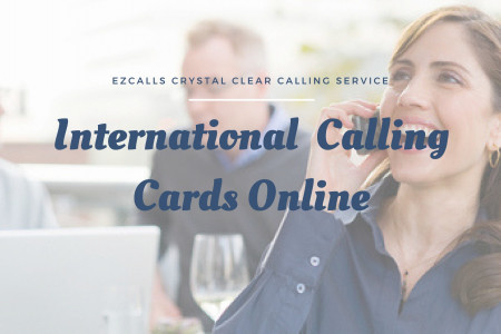 Prepaid International Calling Cards With Possible Rates Infographic