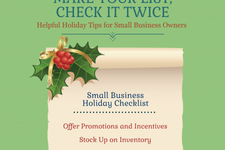 Prepare Your Small Business For The Holidays | Infographic Infographic