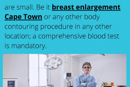 Preparing for Breast Augmentation Surgery Infographic