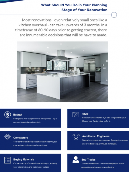 Pre-Renovation Considerations Infographic