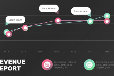 Presentation Template for Revenue Data | Free Download Infographic