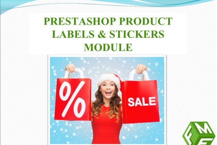 PrestaShop Product Labels and Stickers Module Infographic