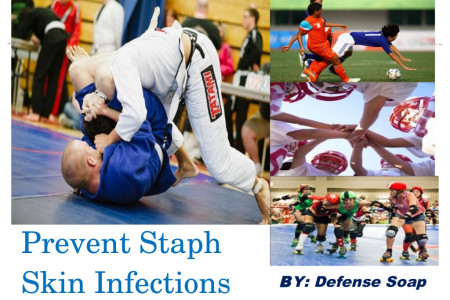 Prevent Staph Skin Infections Infographic