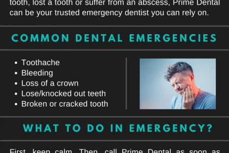 Prime Dental   Call Our Emergency Dentist in Pembroke Pines Infographic