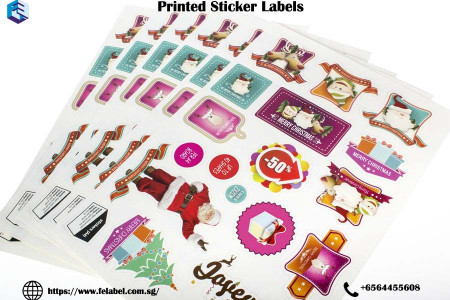 Printed Sticker Labels Infographic