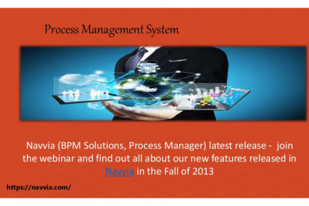 Process Management System Infographic