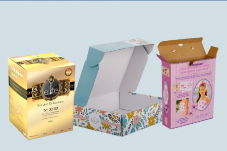 Product Packaging Boxes Infographic