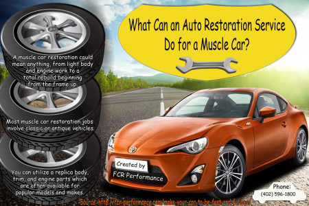 Professional Auto Restoration Tips Infographic