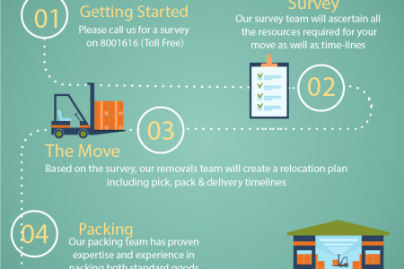 Professional Packers & Movers in Dubai Infographic
