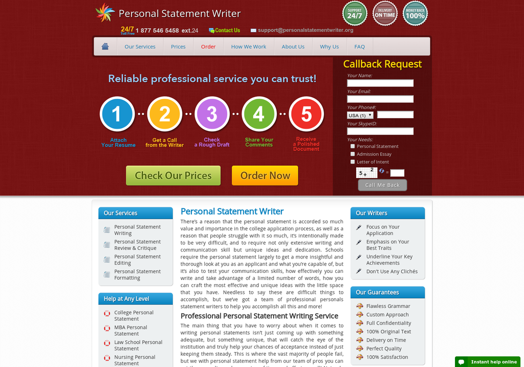 Essay writing websites