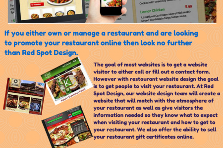 Professional Restaurant Web Design  Infographic