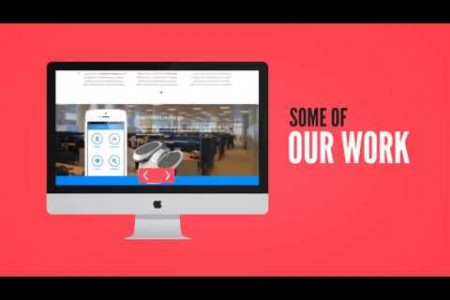 Professional Web Design Corporate  Video Infographic
