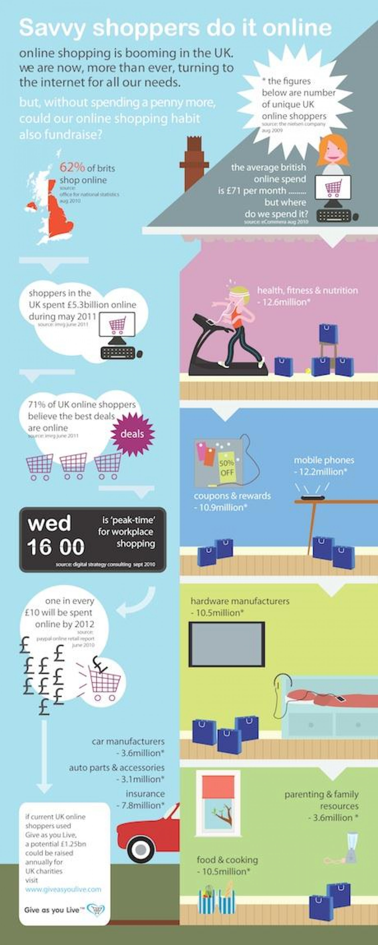Profile of an Online Shopper Infographic