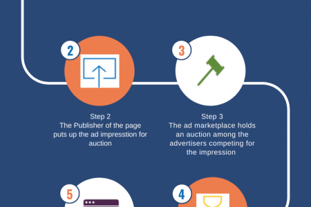 Programmatic Advertising work with Adapex Infographic