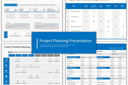 Project Management PowerPoint Templates  Infographic