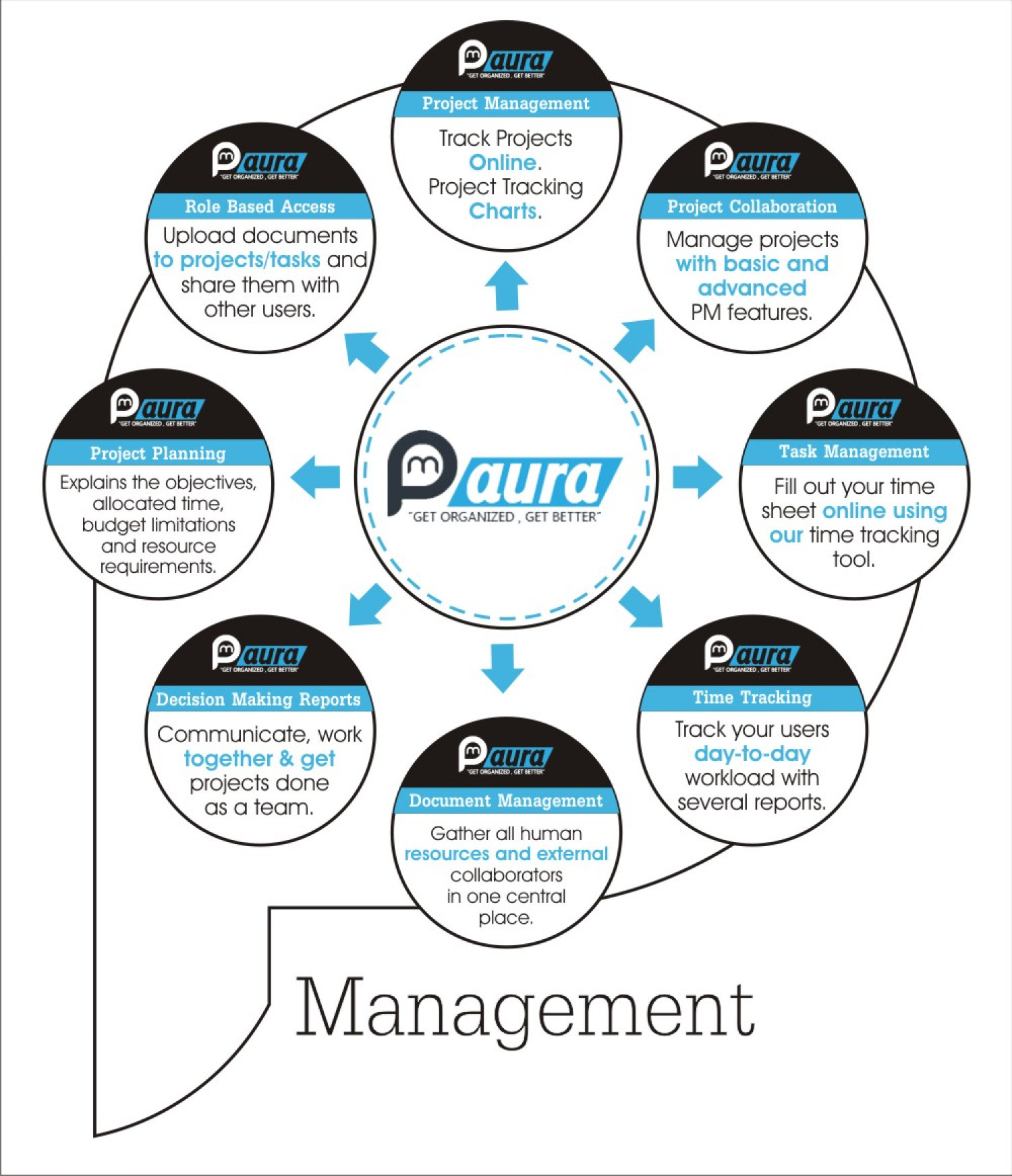 Project Management Software Infographic